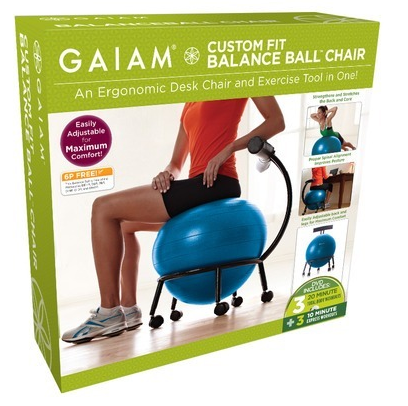 bidclub sq custom ball fit chair index medicine gaiam new adjustable balance